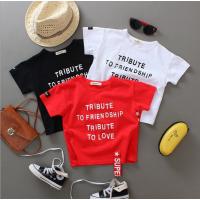 纯棉童装夏季短袖男女童上衣地摊货便宜服装几元T恤库存批发
