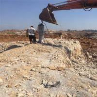 齐齐哈尔大型矿石二次分解 5000吨分裂力 350型开山劈石器-派力恩新款