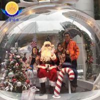 圣诞透明球罩 压克力透明球 婚庆透明水晶球 展会道具透明球 有机玻璃透明球