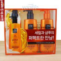 韩国太平洋洗发水护发素套装 橘色开叉修复 530*3 2洗1护