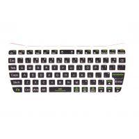 多功能游戏机硅胶键盘 多种颜色工业硅橡胶按键 亿鑫硅胶游戏机/电脑键盘定制厂商
