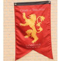 权力的游戏旗帜冰与火兰尼斯特九大家族电影旗帜装饰旗(不改价