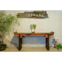 老船木家具实木桌子八仙桌正方形餐桌供桌条案案台神案