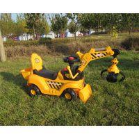 厂价直销新款儿童电动挖掘机可坐可骑宝宝工程车电动车
