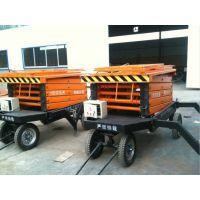 威海频繁修换灯具用 8米四轮移动式升降机 正合适