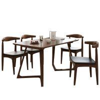 北欧实木餐桌餐椅沙发茶几电视柜床梳妆台