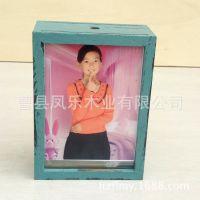 厂家批发定做5寸7寸工艺品镜框框架办公镜框田园风格复古镜框