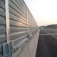 环城高速路隔音屏 消音声屏障工程 地铁声屏障厂家