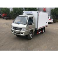 福田驭菱后双轮冷藏车 小型蓝牌1.5L保温冷链运输车价格