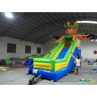 陕西藏龙游乐室外充气水滑梯批发价格