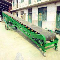 建筑工地沙石输送机 尿素化肥装卸车皮带机 pvc食品级输送机