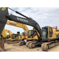 新款沃尔沃200二手挖掘机报关进口挖掘机全国包运输