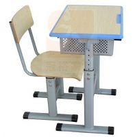单人学生椅,校园桌,厂家直销金属好椅达台