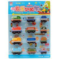 混批回力玩具小火车早教益智学习玩具蛋糕装饰厂家批发