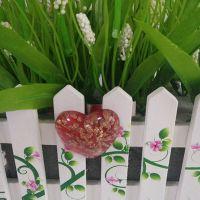 彩色玻璃 工艺品 玻璃冰箱贴 居装饰品 挂件 礼堂装饰心型冰箱贴