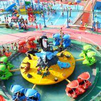 色彩丰富童星游乐激战鲨鱼岛公园儿童户外游乐设备