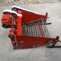 小型家用手扶拖拉机土豆收获机 牵引式大宽幅土豆收获机