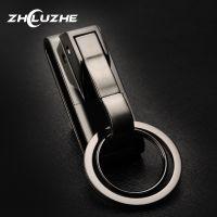 一件代发指路者新款男士不锈钢钥匙扣/穿皮带式腰挂金属汽车钥匙