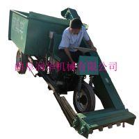 方向盘控制液压清粪车 养猪场自动铲粪车 粪污处理刮粪车