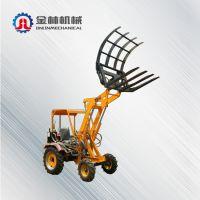 厂家直销小型抓木机一林机械 小型装载机轮式