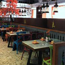 湖州工业风桌椅定做,时尚主题菜馆家具加工厂