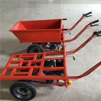 奔力STC-QY 建材市场周转小推车 平板式动力输送车