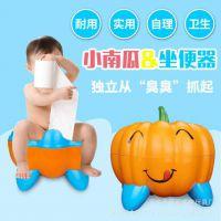 厂家批发婴幼儿南瓜仿真卡通儿童座便器小马桶婴儿坐便器小便池