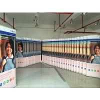 深圳厂家定做商场宣传广告易拉宝展示架高清喷绘制作需要多少钱一套
