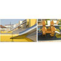 定做不锈钢滑梯 半透明S形滑道 幼儿园不锈钢滑梯 大型商场户外不锈钢滑梯组合