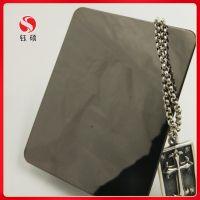 自由纹灰钛不锈钢墙面板_和纹深灰色不锈钢板