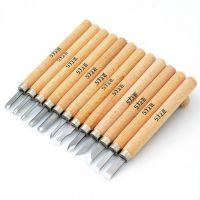上匠雕刻刀 12支套装木刻刀印章木头雕刻工艺刀具橡皮美工刀