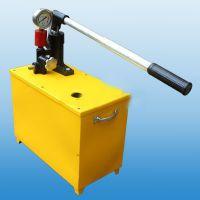 贵溪RLY5.6/40A水压机/手动压力泵4DSY-63/16MPA 160公斤电动试压泵的