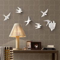 心的家居创意树脂燕子墙面装饰品壁饰自由组合墙面挂件