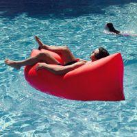 户外便携式空气沙发袋充气床单人休闲快速充气床懒人沙滩沙发