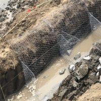 石笼网厂家直销铅丝石笼网 pvc格宾网 水利治理装石头网