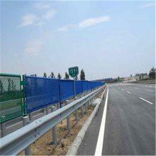 高速公路专用波形护栏 两波护栏热镀锌预埋立柱波形护栏 省道波形护栏