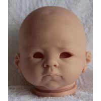 reborn doll kit unpainted doll parts 仿真重生婴儿娃娃模具