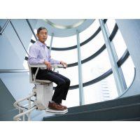 轨道式残联升降平台 楼梯安装智能曲线老人座椅平台 延安市启运品牌供应