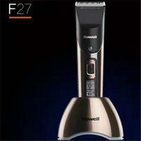 正品日威F27成人理发店专业专用充插两用电推剪电推子理发器