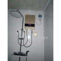 韩银Q3挂墙式热水器6050瓦、超薄设计不占空间连续出热水不用等待
