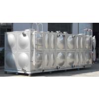 【方联供应304不锈钢组合水箱||生活储水容器||卧式水箱厂家】