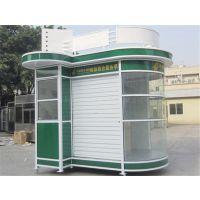 广场奶茶亭制作哪家便宜,长沙步行街售货亭工艺精湛!