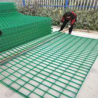 工程用圈地围栏网河道护栏山西圈地铁丝网围栏绿色公路护栏网片可定制