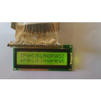 C1627A-YFSEDY-OB字符液晶模组显示屏