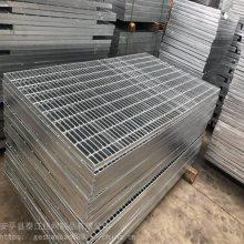 钢格板厂家推荐钢格栅沟盖 镀锌排水网沟盖 排水明沟盖板承载力好