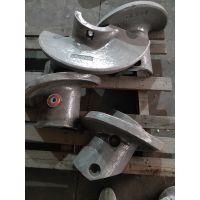 定制旭晓铸造各种异形件、衬板、搅龙、搅拌刀、二缸头砖机备件及机械配件Mn13Cr2,Cr26,28