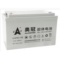 奥冠6GFMJ100胶体电池12v100ah价格