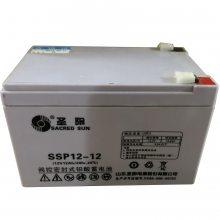 山东圣阳蓄电池SP12-33阀控密封式铅酸蓄电池12V33AH/20HR
