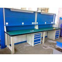 江西不锈钢钳工台,车间防腐蚀不锈钢桌,学校专用钳工标准桌
