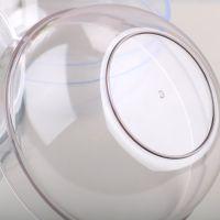 美容院洗脸盆透明塑料盆亚克力加厚小号洗面盆圆形一次性清洁盆袋